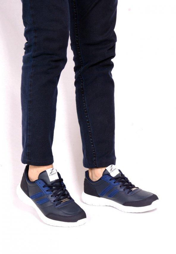 Lepons Lacivert Cilt Erkek Spor Ayakkabı