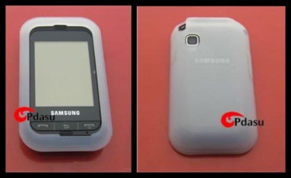 Samsung C3303K Champ Silikon Kılıf - Beyaz Renk