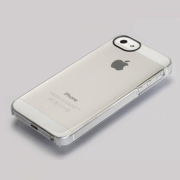 Adopted iPhone SE/5S/5 Lens Kılıf Saydam APH11134
