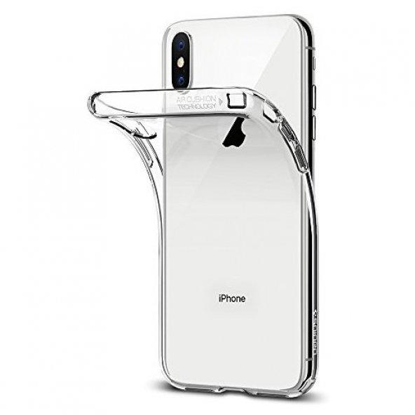 Apple iPhone X Şeffaf Kılıf