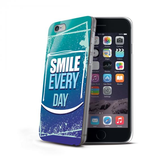 Celly Apple iPhone 6 / 6S  DesingAward Smile Desenli Sert Kılıf
