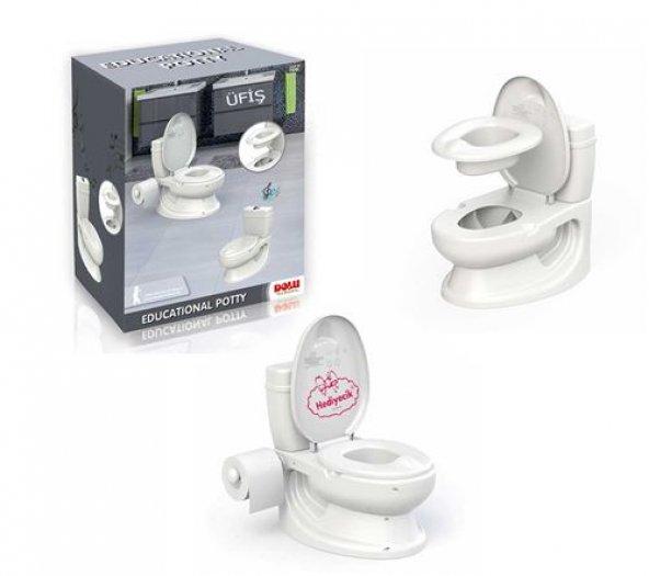 Dolu Eğlenceli Tuvalet Eğitimi Lazımlık Su Sesi Tuvalet Kağıtlı ÜCRETSİZ KARGO (#373057795)
