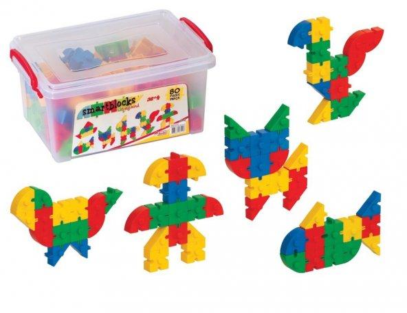 Smart Blocks Küçük Box 80 Parça