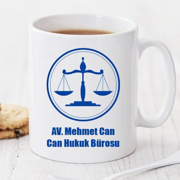 Armalı Avukat Kişiye Özel Kupa Pi09