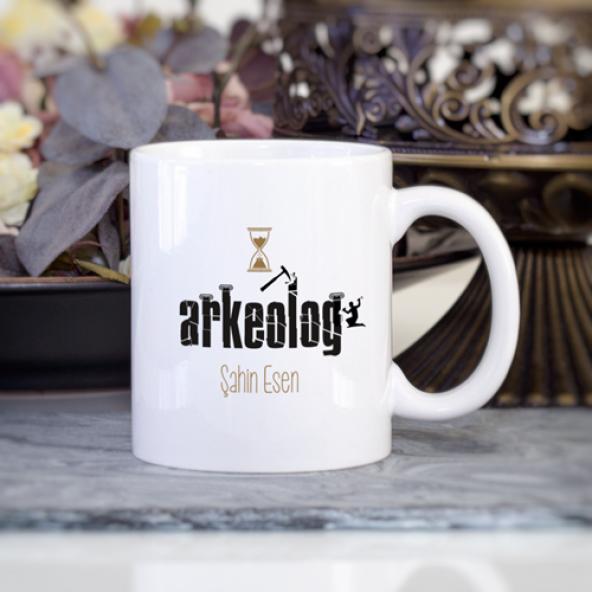 Kişiye Özel Arkeolog Kupa Bardak