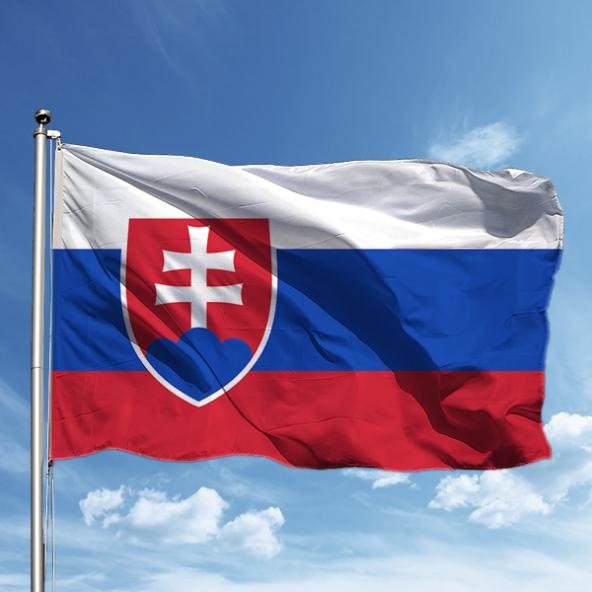 Slovakya Bayrağı 150*225 cm
