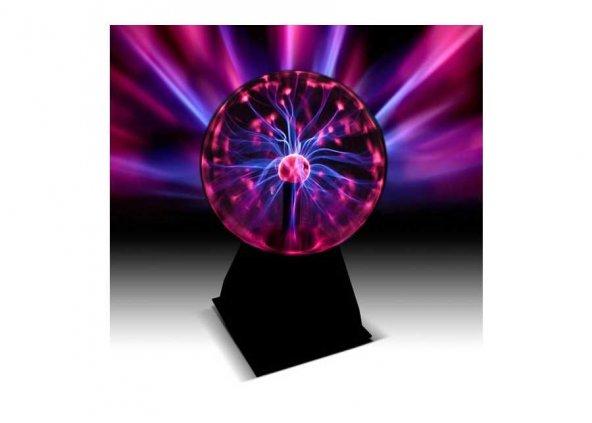 Sihirli Plazma Işık Küresi - Plasma Storm Lamp