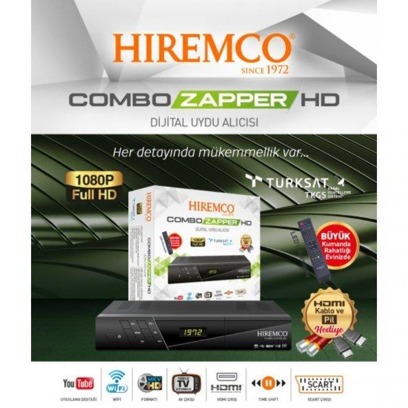 Hiremco COMBO ZAPPER HD UYDU ALICISI