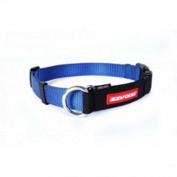 EzyDog Checkmate Kilitli Köpek Terbiye Boyun Tasması X Large Mavi