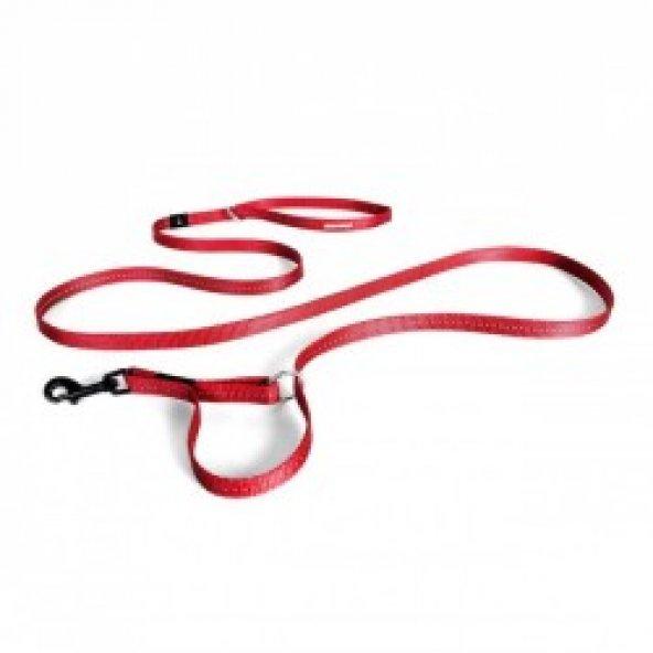 EzyDog Vario 4 Lite Çok Yönlü Köpek Gezdirme Kayisi Kırmızı