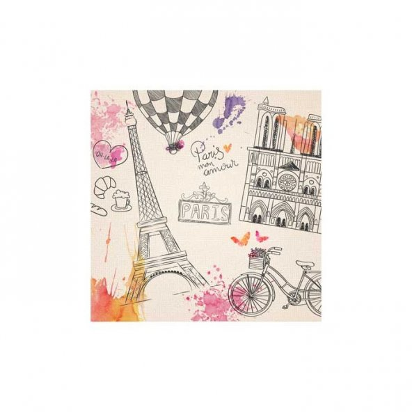 Paris-1 Bulaşık Makinesi Sticker