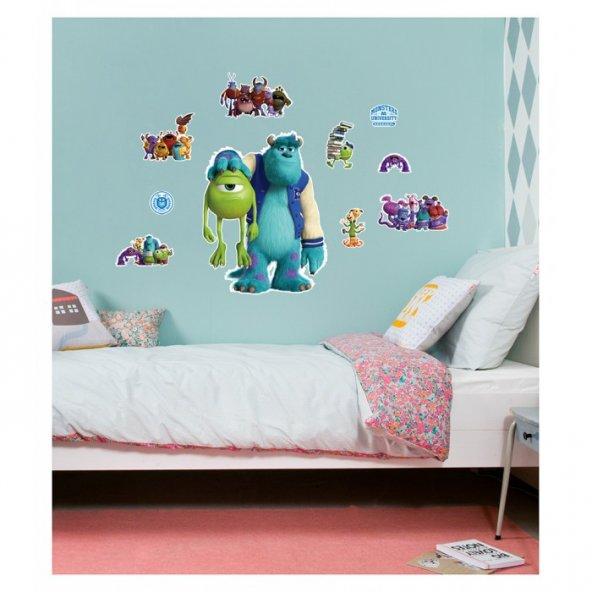 Monsters University 48x68 cm Duvar Sticker