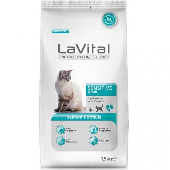 La Vital Somonlu Yetişkin Kedi Maması 1,5 Kg