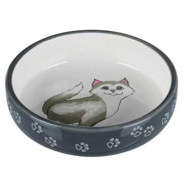 Trixie Kısa Burunlu Kedi Seramik Mama Su Kabı 0.3lt 15cm
