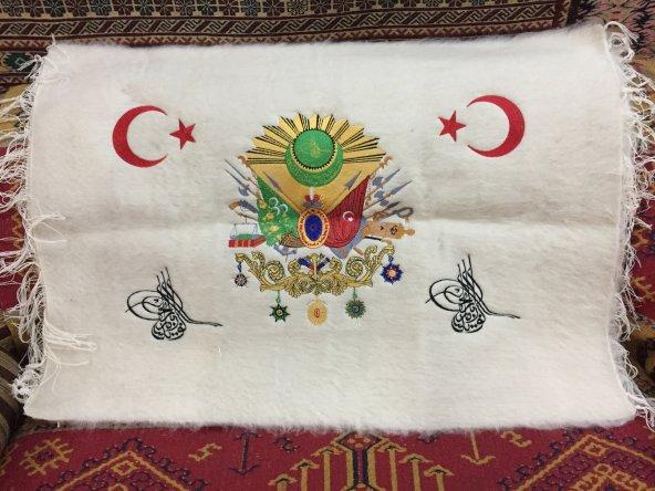 tiftik el işlemeli  Osmanlı devlet armadı