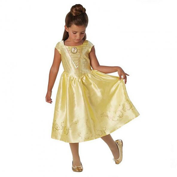 Belle Güzel ve Çirkin Kostüm 7-8 Yaş