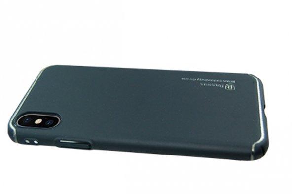 Baseus Nano Techonology Desing İphone X Metal Kapak