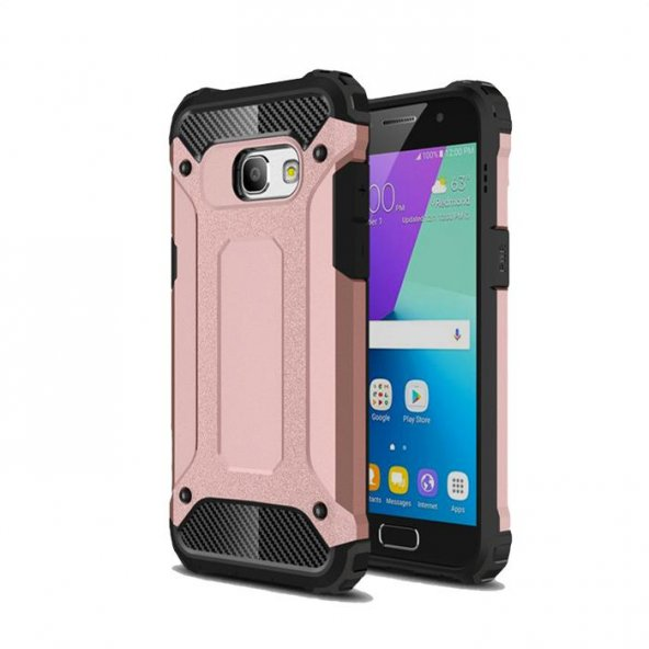 Samsung Galaxy J4 Plus Kılıf Armor Rose Gold