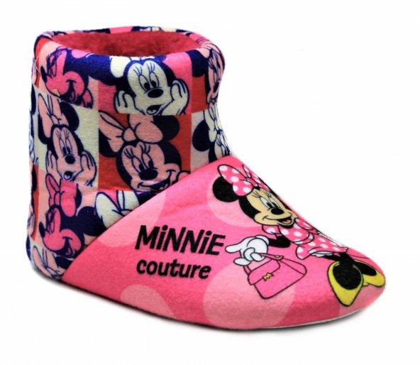 .Orijinal Minnie Mouse Çocuk Panduf Ev Kreş Ayakkabısı 92069