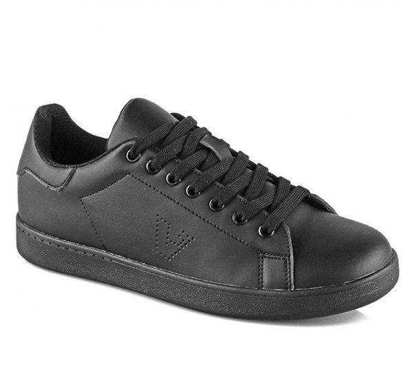 Vicco 939.18K.104 Anatomik Erkek Bayan Spor Ayakkabı Siyah Beyaz