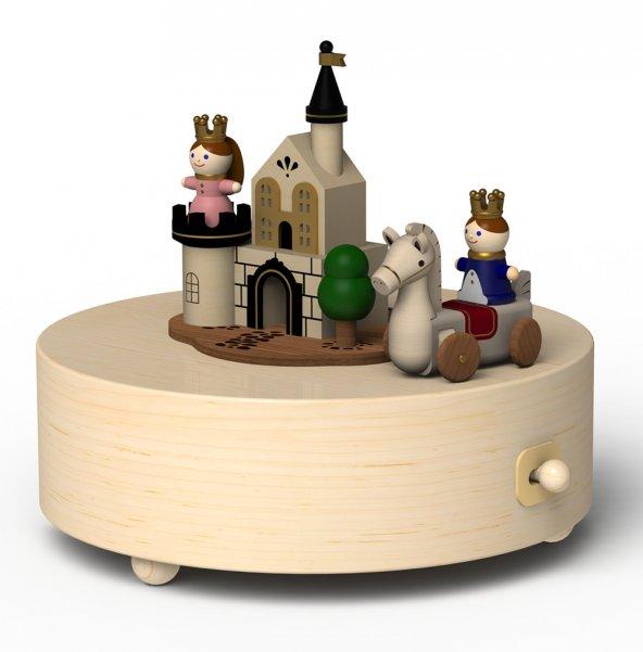 Wooderful Life Çocuk Konseptli Müzik Kutusu Prens ve Prenses 1033243