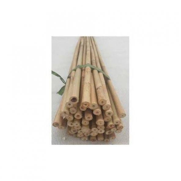 Bambu Cubuk 240 cm 18-20 mm 30 Adet Bambu Bitki Destek Çubuğu Dekoratif Bambu Çubuk