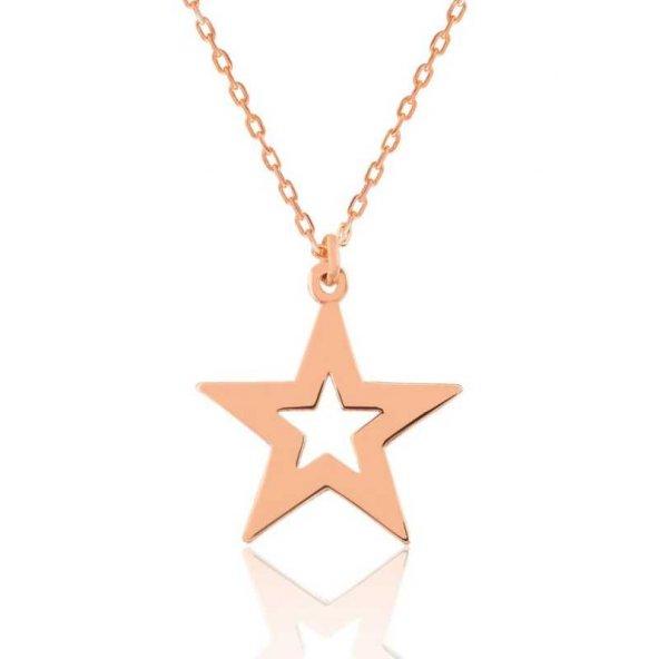 Yıldız Bayan Pirmoda Gümüş Kolye