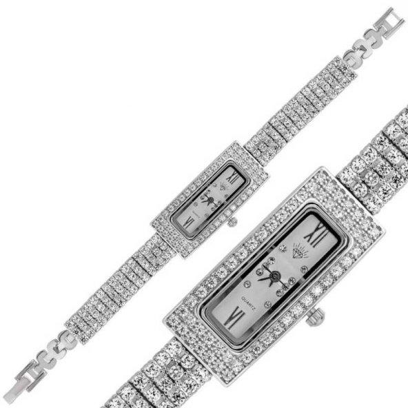 Bayan Pirmoda Gümüş Saat