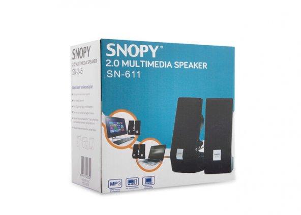 Snopy SN-611 2.0 AC 220V Speaker