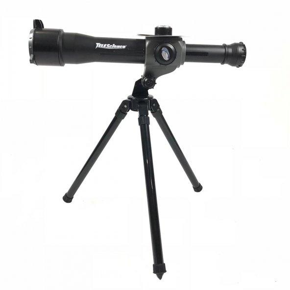 3 IN 1 30X Conpact 2380 HD Astronomik Teleskop Açık Bilim