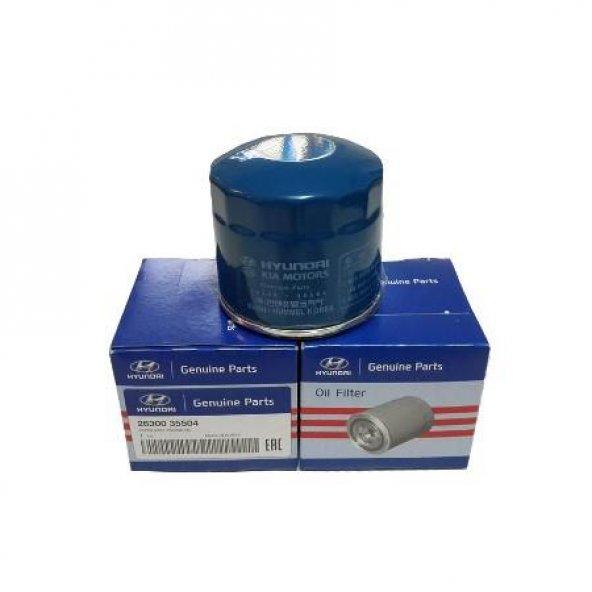 HYUNDAI SONATA Motor Yağ Filtresi [ORJİNAL] 2630035504