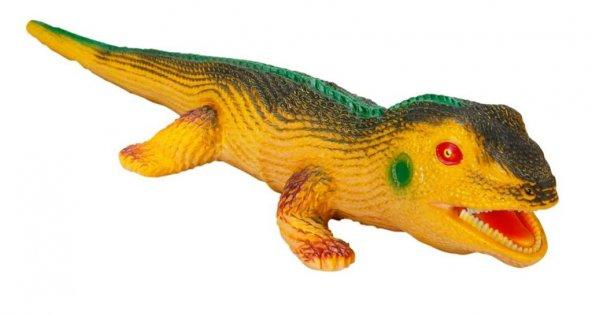 Sesli Sürüngenler 58 cm Sarı Tamamı Et Eğitici Oyuncak