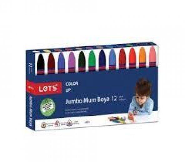 Lets Jumba Mum Boya 12 Renk