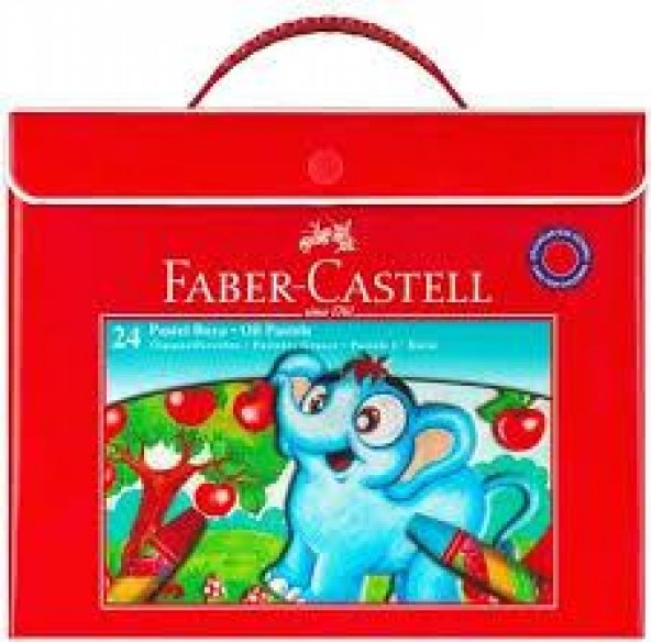 Faber-Castell 24 Parça Pastel Boya