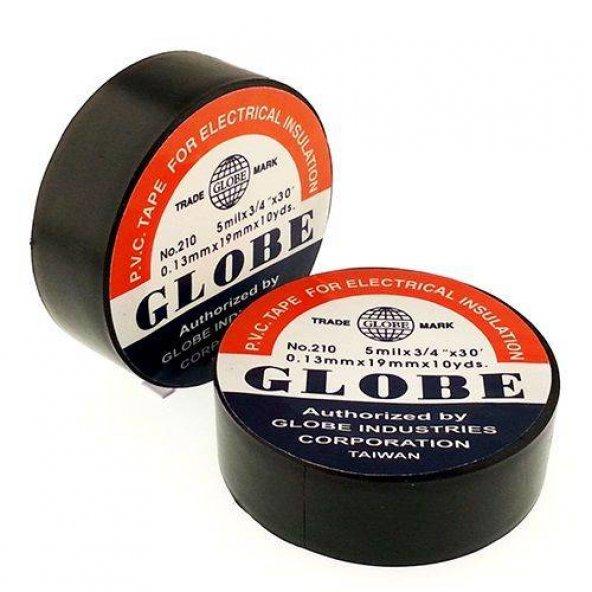 Globe İzole Elektrik Bant Siyah-Beyaz 10'lu Paket
