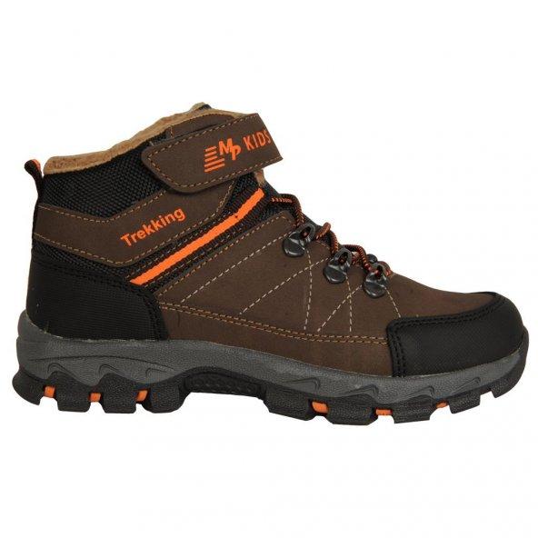 Mp 182-5640 Trekıng Termal Kürklü Kışlık Erkek Çocuk Bot Ayakkabı