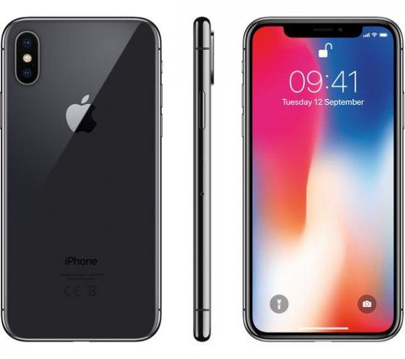 Apple Iphone X 64GB Space Gray Cep Telefonu (Apple Türkiye Garantili)
