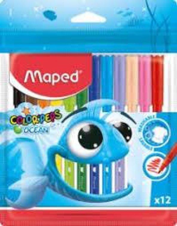 Maped Colorper12li Kalem Keçeli Kalem
