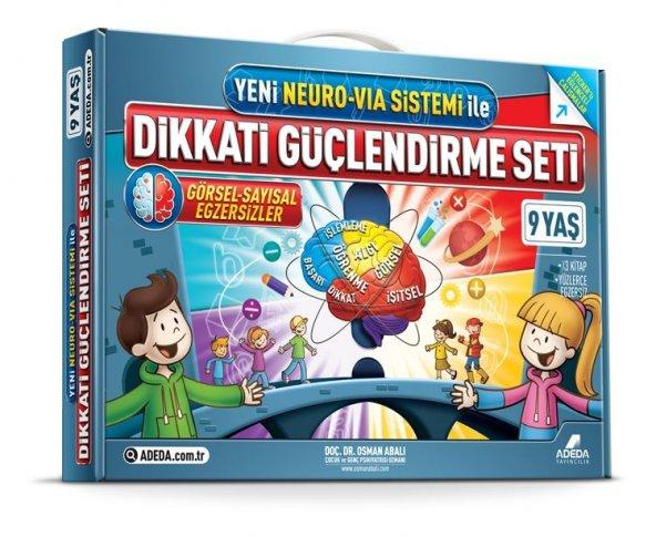 9 yaş Dikkati Güçlendirme Seti (DGS) - Adeda Yayıncılık