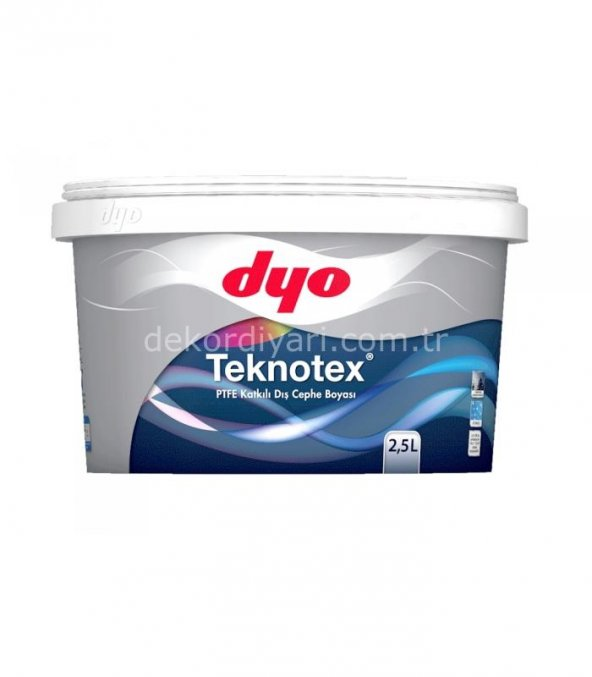 Dyo Teknotex Dış Cephe 2,5 Lt ( TÜM RENKLER )