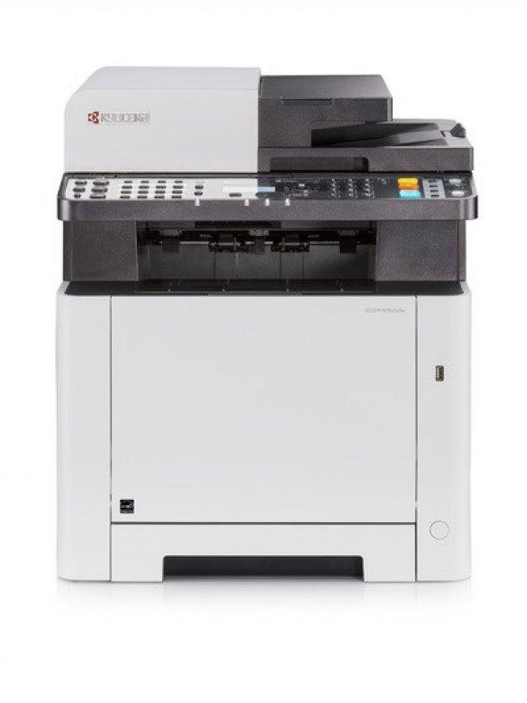 Kyocera ECOSYS M5521cdw Fot. Fax. Tar. Renkli Lazer Yazıcı