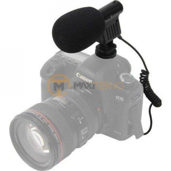 BOYA BY-VM01 Shotgun Condenser Mikrofon