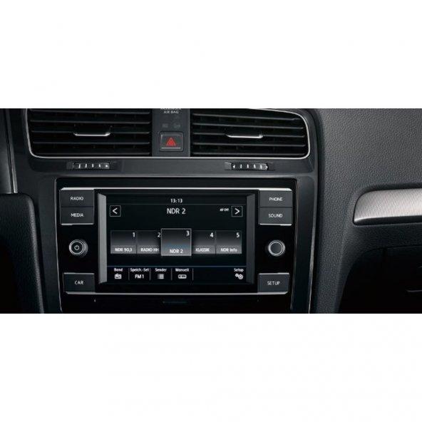 Volkswagen Yeni Golf 7 inç Multimedya Dokunmatik Ekran Koruyucu