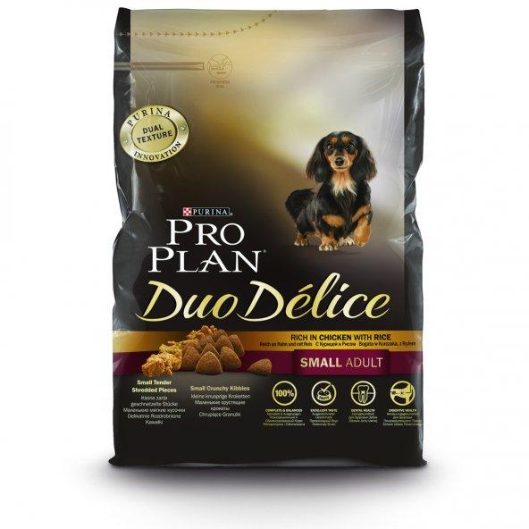 ProPlan Duo Delice Küçük Irk Tavuklu Yetişkin Köpek Maması 2,5 Kg