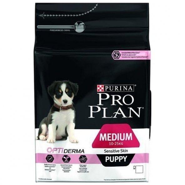 ProPlan Puppy SensitiveSkin Somon Balıklı Yavru Köpek Maması 12Kg