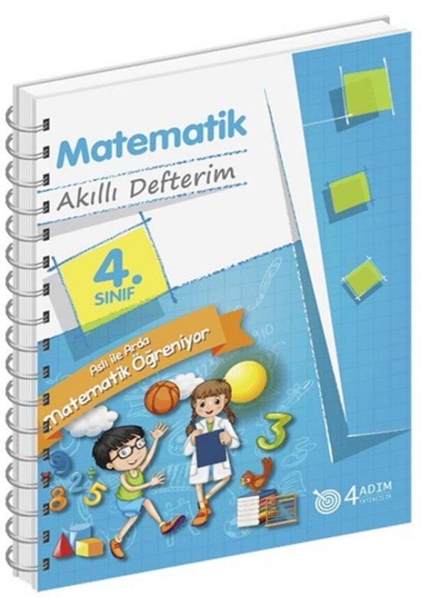 4.Sınıf Matematik Akıllı Defterim/4 Adım Yayınları