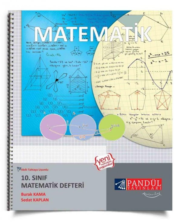 Pandül Yayınlar 10. Sınıf Matematik Defteri