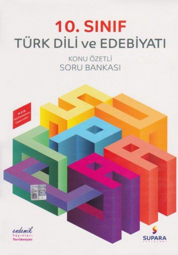 Supara Yayınları 10. Sınıf Türk Dili ve Edebiyatı Konu Özetli Sor