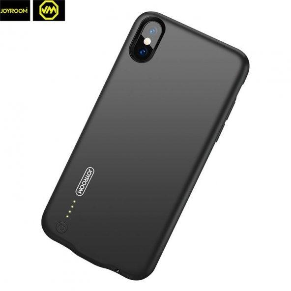 Joyroom Magic Shell iPhone X / XS Şarjlı Kılıf 3500 mAh