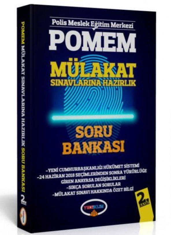 Yediiklim Yayınları POMEM Mülakat Sınavlarına Hazırlık Soru Banka